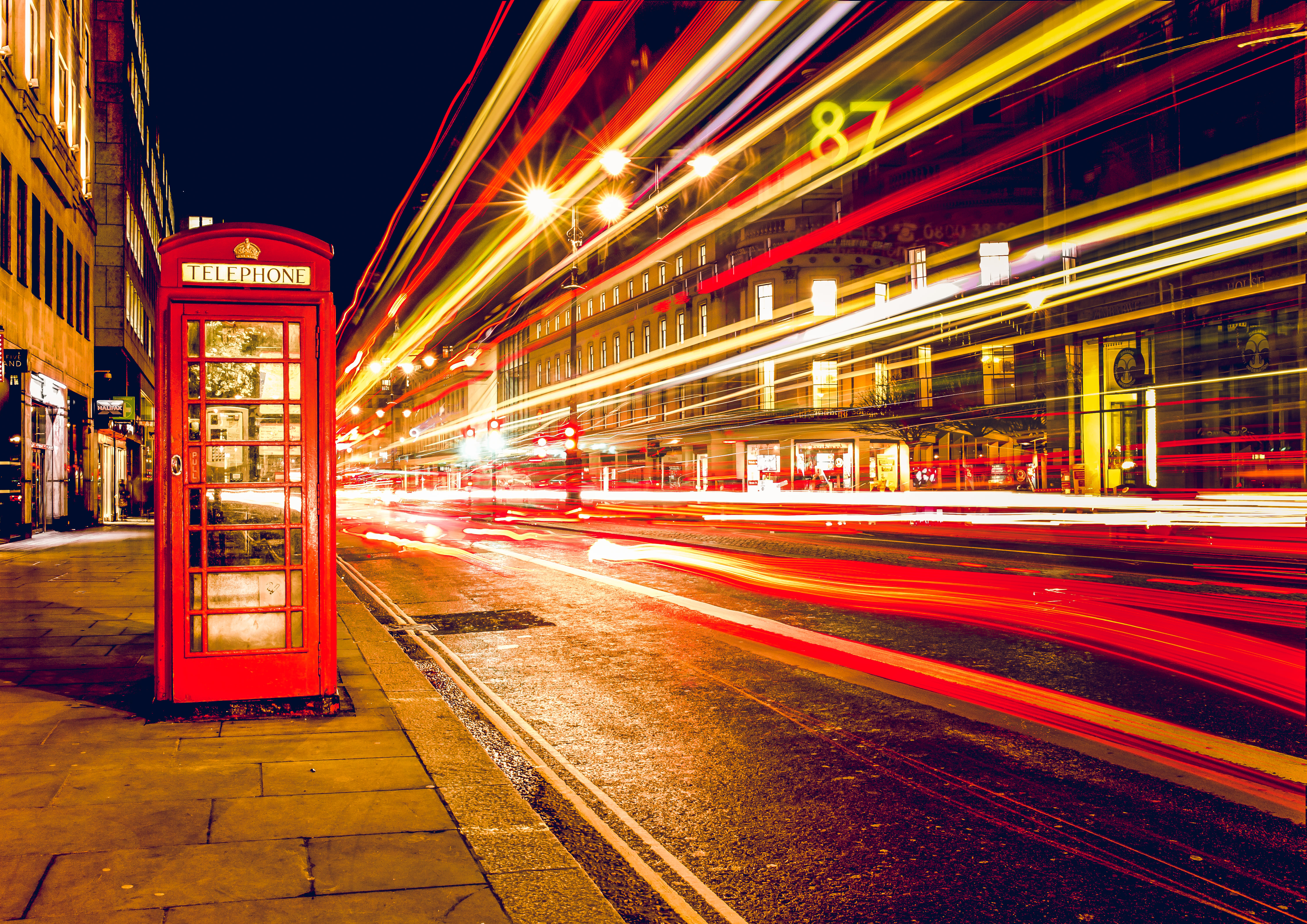 London Phonebox stock