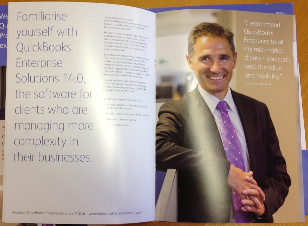 James Morgan, QuickBooks Enterprise Brochure