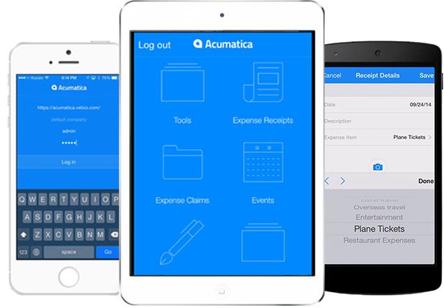 Cloud Accounting | Acumatica UK | Mobile Applications