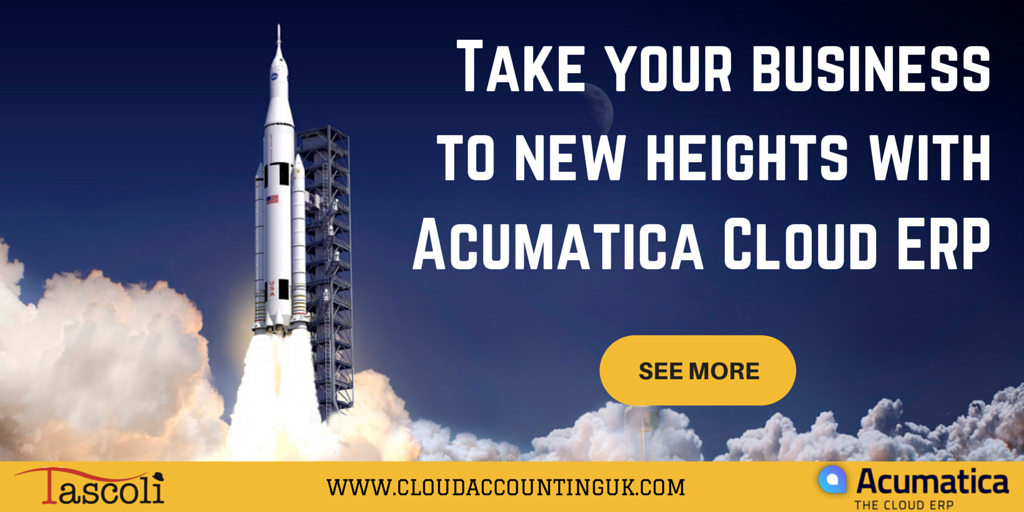 Acumatica - Take your business to new heights