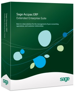 the accounting system company - Sage Accpac ERP 300